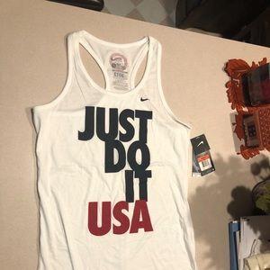 Nike 2012 USA Olympic Team Racerback Tank Top